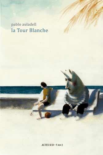 Coberta de la traducció al francés de La torre blanca
